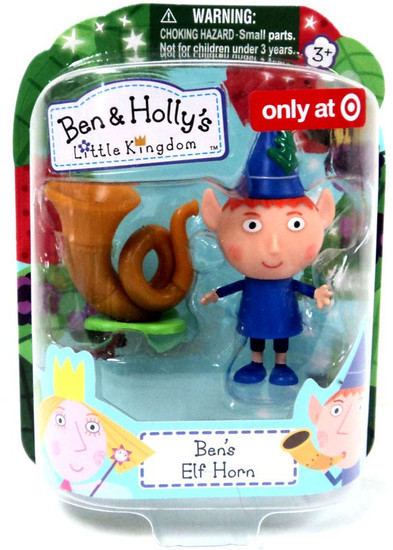 Ben & Holly's Little Kingdom Ben's Elf Horn Exclusive Mini Figure 2-Pack