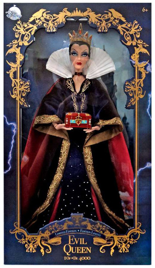 Disney Princess Snow White Limited Edition Evil Queen Exclusive 17-Inch Doll