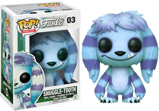 Funko Wetmore Forest POP! Monsters Snuggle Tooth Vinyl Figure #03