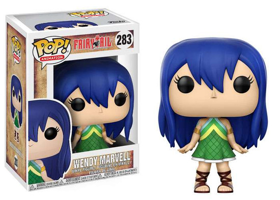 Funko Fairy Tail POP! Animation Wendy Marvell Vinyl Figure #283