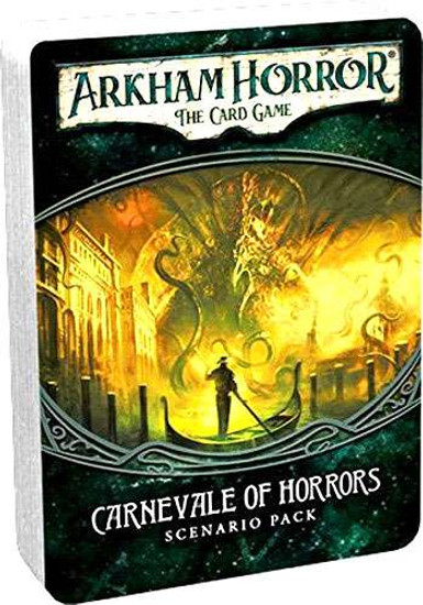 Arkham Horror The Card Game Carnevale of Horrors Scenario Pack