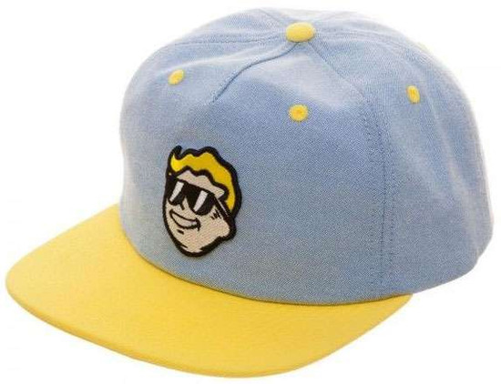 Fallout Vault Boy Oxford Snapback Cap Apparel