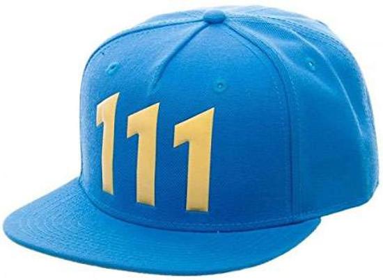 Fallout Vault 111 Chrome Weld Snapback Cap Apparel