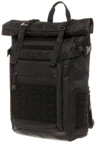 Call of Duty Black Military Roll Top Backpack