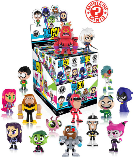 Funko Mystery Minis Teen Titans Go! Mystery Box [12 Packs]