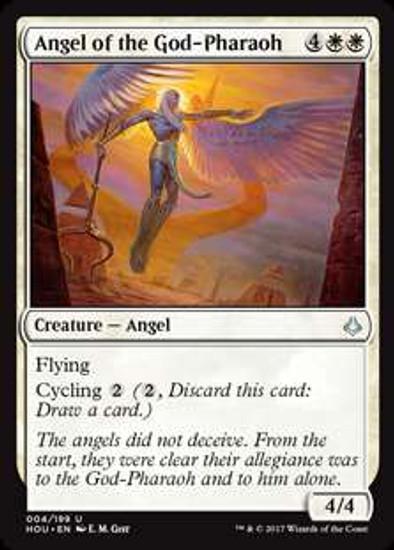 MtG Hour of Devastation Uncommon Foil Angel of the God-Pharaoh #4