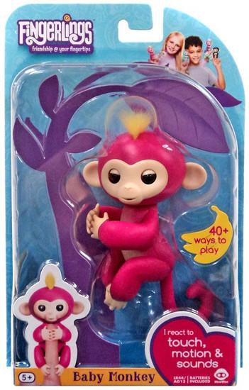 Fingerlings Baby Monkey Bella Figure