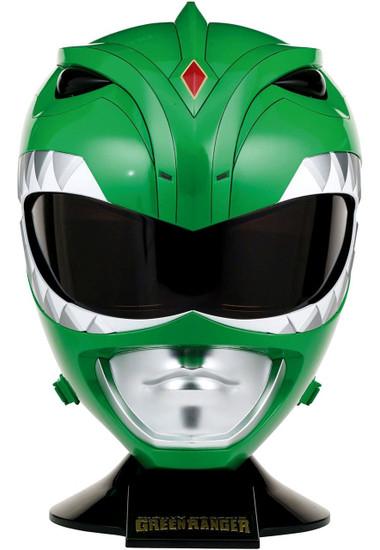 Power Rangers Mighty Morphin Legacy Green Ranger Helmet [Full Scale]