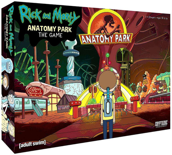 Rick & Morty Anatomy Park Game