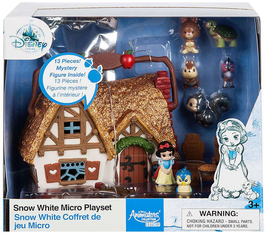 Disney Littles Animators' Collection Snow White Exclusive Micro Playset [2017]