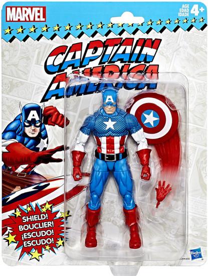 Marvel Legends Vintage (Retro) Series 1 Captain America Action Figure