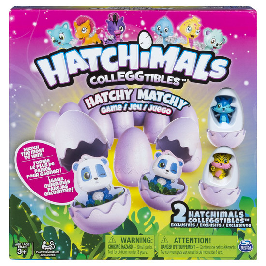 Hatchimals Colleggtibles Hatchy Matchy Exclusive Game [2 Exclusive CollEGGtibles!]