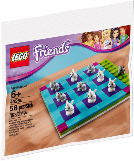 LEGO Friends Tic Tac Toe Mini Set #40265 [Bagged]
