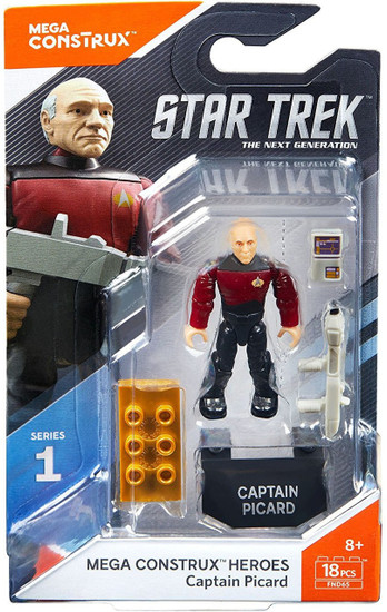Star Trek Heroes Series 1 Captain Picard Mini Figure
