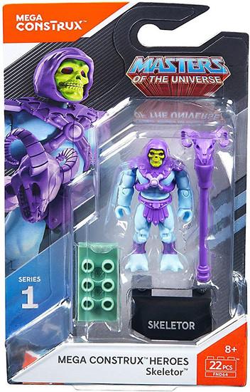 Mega Construx Masters of the Universe Heroes Series 1 Skeletor Mini Figure