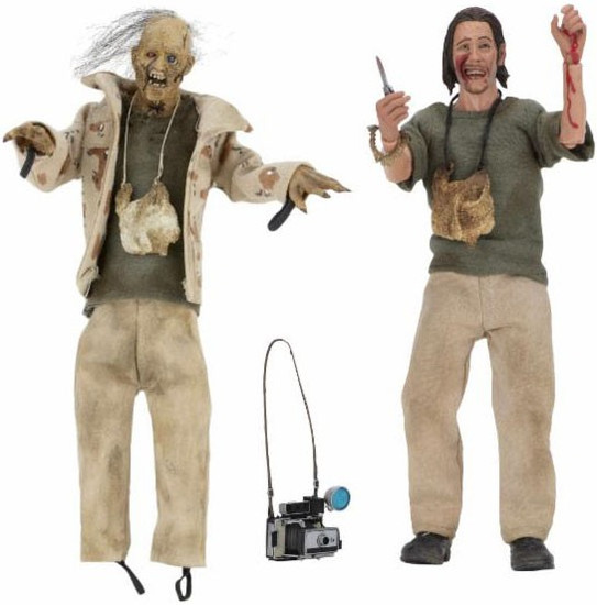 NECA Texas Chainsaw Massacre 2 Nubbins Sawyer Clothed Action Figure 2-Pack Collector's Set