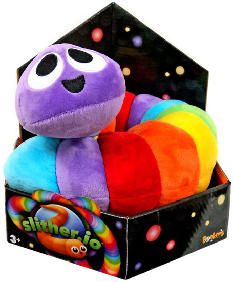 Slither.io Rainbow 24-Inch Plush