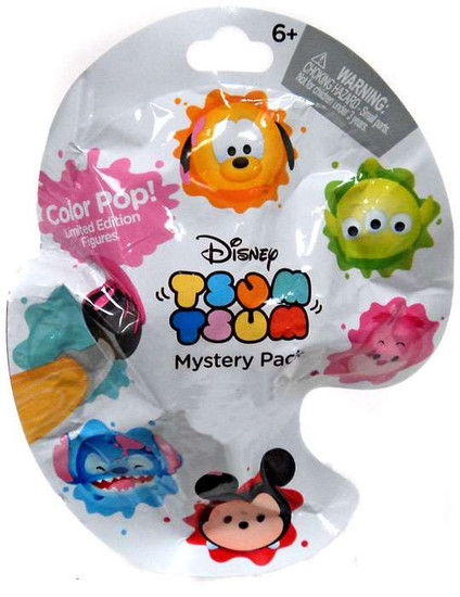 Disney Tsum Tsum Color Pop Exclusive Mystery Pack