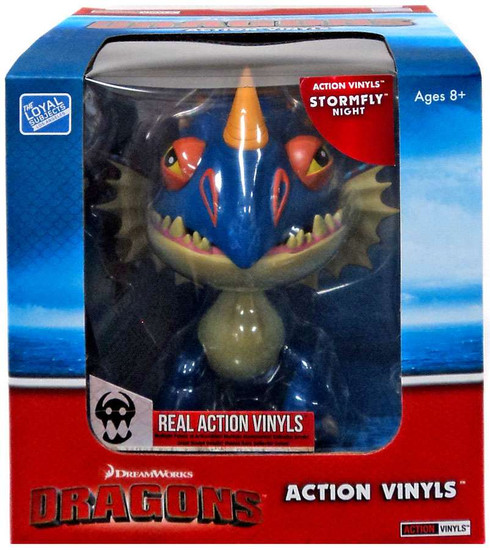 How to Train Your Dragon Action Vinyls Stormfly Vinyl Figure [Night]