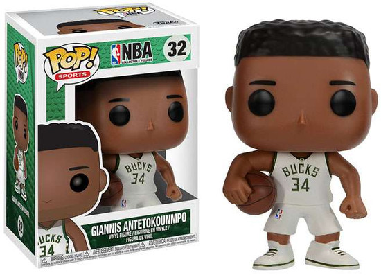 Funko NBA POP! Sports Basketball Giannis Antetokounmpo Vinyl Figure #32