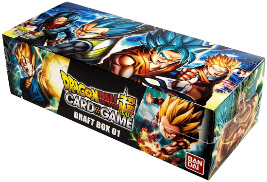 Dragon Ball Super Trading Card Game Draft Box 01 Booster Box [24 Packs]