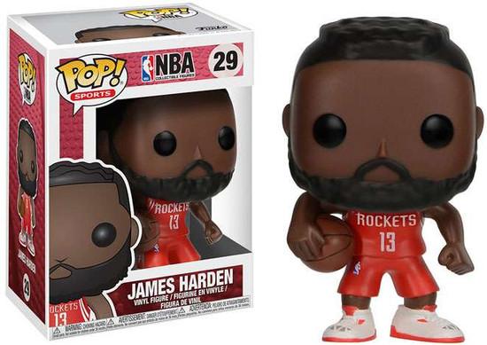 Funko NBA POP! Sports Basketball James Harden Vinyl Figure #29 [Red Uniform]