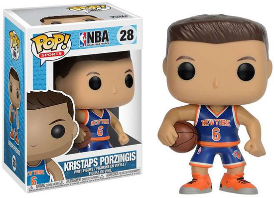 Funko NBA POP! Sports Basketball Kristaps Porzingis Vinyl Figure #28