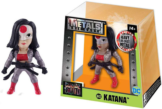 DC Suicide Squad Metals Katana Action Figure M432 [Silver Outfit]