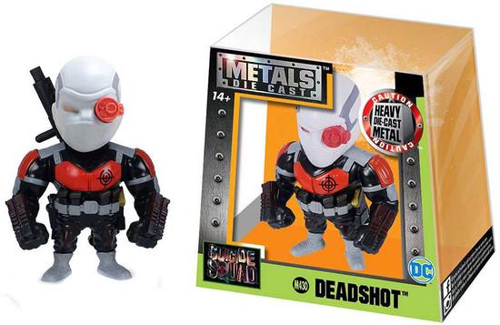 DC Suicide Squad Metals Deadshot Action Figure M430 [Black & Red]