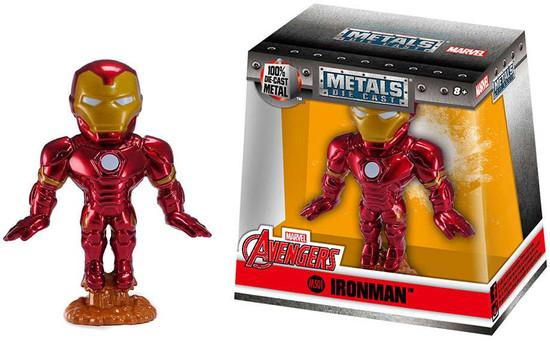Marvel Avengers Metals Iron Man Action Figure M501