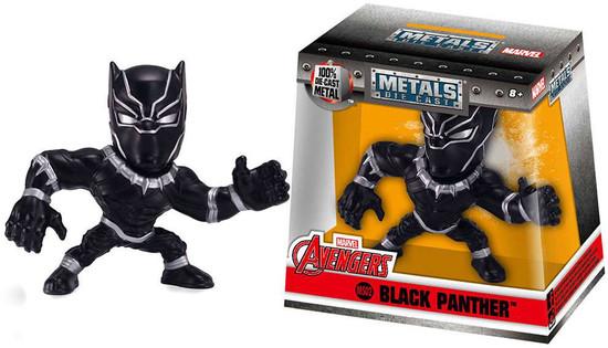 "Marvel Avengers Metals Black Panther Action Figure M502 [2.5""]"