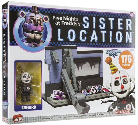 McFarlane Toys Five Nights at Freddy's Scooping Room Medium Construction Set [Masked Ennard]