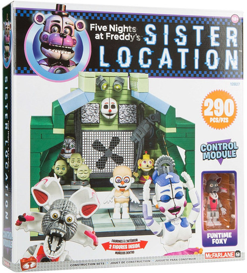 McFarlane Toys Five Nights at Freddy's Control Module Large Construction Set [Jumpscare Funtime Foxy & Ballora]