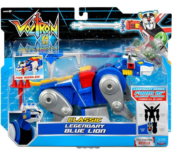 Voltron 84 CLASSIC Legendary Blue Lion Combinable Action Figure