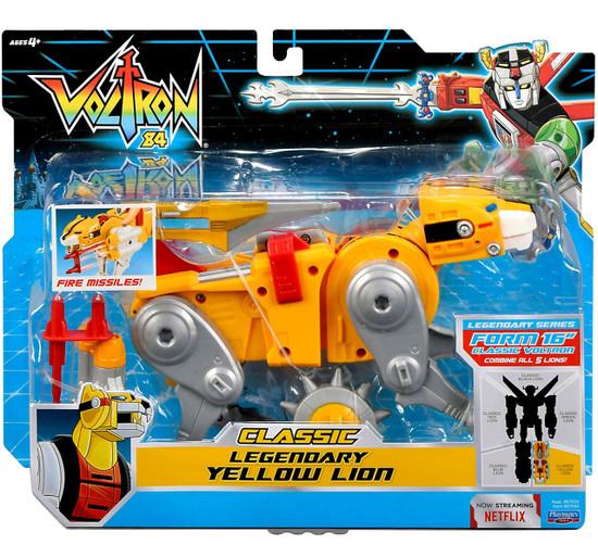 Voltron 84 CLASSIC Legendary Yellow Lion Combinable Action Figure