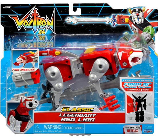 Voltron 84 CLASSIC Legendary Red Lion Combinable Action Figure