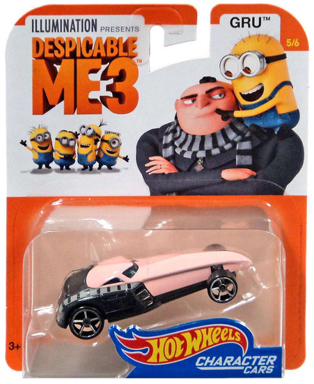 Hot Wheels Despicable Me 3 Gru Diecast Character Car #4/6