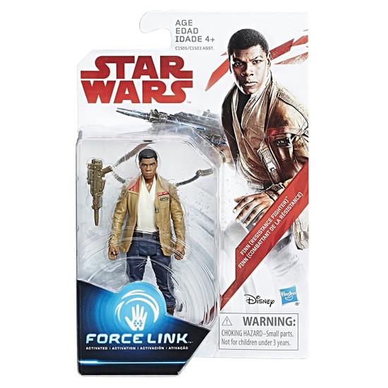 Star Wars The Last Jedi Force Link Orange Series Wave 1 Finn Action Figure [Resistance Fighter]