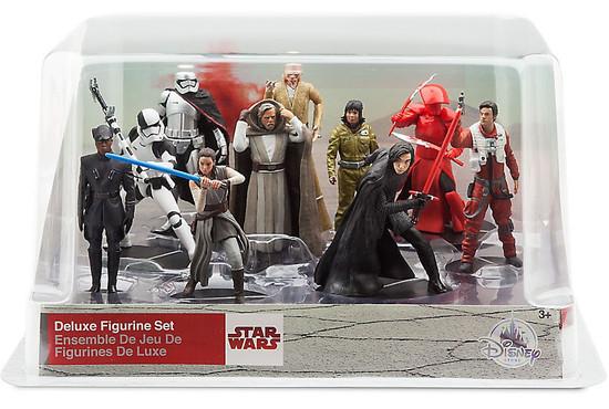 Disney Star Wars The Last Jedi Exclusive 10-Piece PVC Figure Play Set
