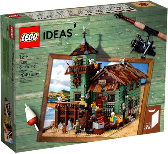 LEGO Ideas Old Fishing Store Set #21310