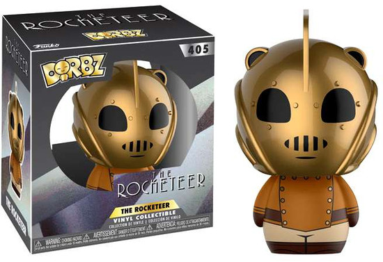 Funko Disney Dorbz The Rocketeer Vinyl Figure #405 [Gold Regular Version]