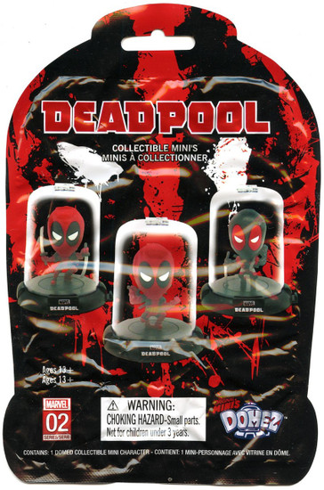 Domez Marvel Deadpool Series 2 Mystery Pack [1 RANDOM Figure]