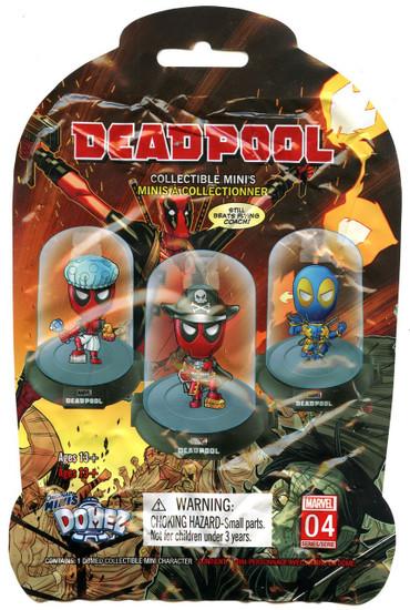 Domez Marvel Deadpool Series 4 Mystery Pack [1 RANDOM Figure!]