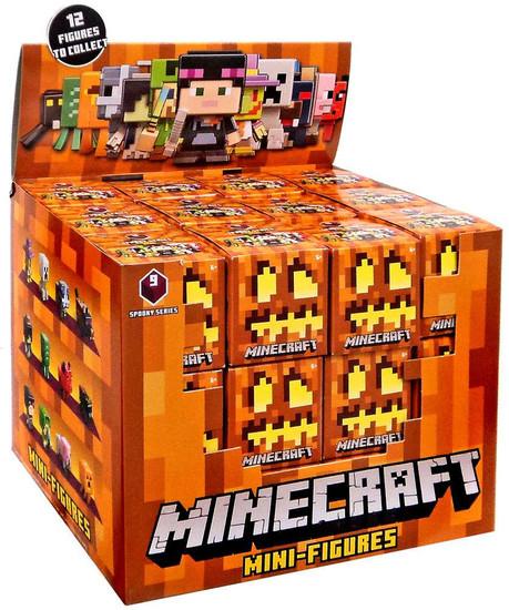 Minecraft Spooky (Halloween) Series 9 Mystery Box [36 Packs]