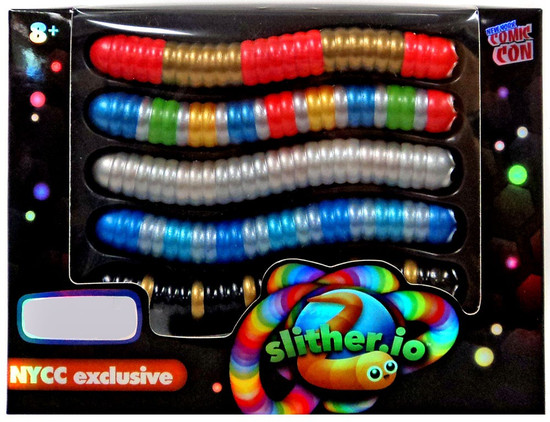 Slither.io Exclusive Figure 5-Pack [Version 2]