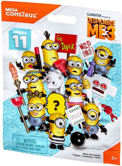 Despicable Me 3 Series 11 Mystery Pack [1 RANDOM Figure]