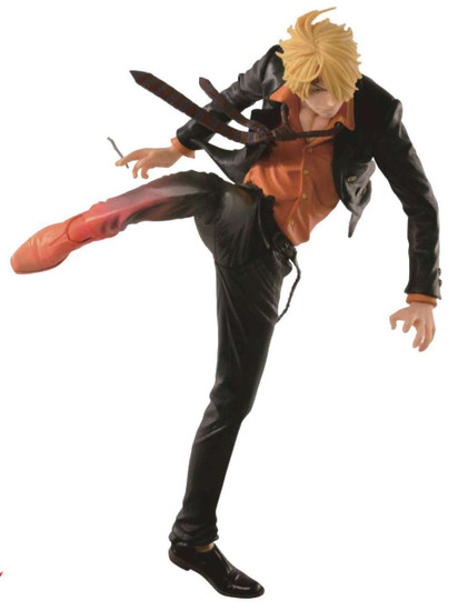One Piece SCultures Sanji 7.1-Inch PVC Figure Sculpture [Diable Jambe]