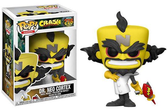 Funko Crash Bandicoot POP! Games Dr. Neo Cortex Vinyl Figure #276
