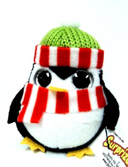 Surprizamals Holiday Penguin Mini Plush