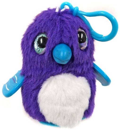 Hatchimals 3.5-Inch Mini Plush Clip-On [Purple & White]